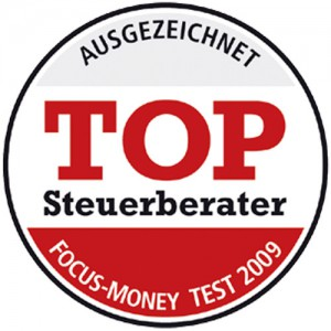 Focus Money Top-Steuerberater Siegel 2009