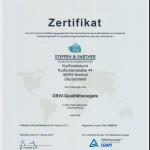 DStV-Qualitätssiegel für die Steuerberatung der Steffen & Partner Gruppe