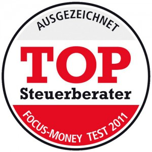 Focus Money Top-Steuerberater Siegel 2011