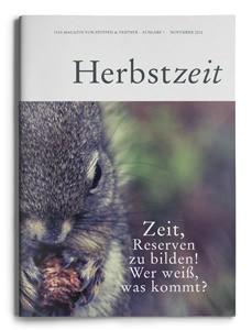 """Unsere Herbstzeit  – """"Das Magazin von Steffen & Partner"""""""