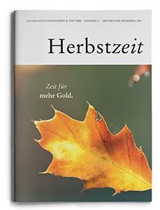 """Unsere Herbstzeit 2014  – """"Das Magazin von Steffen & Partner"""""""