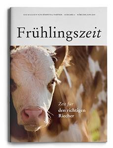 """Unsere Frühlingszeit  2014– """"Das Magazin von Steffen & Partner"""""""