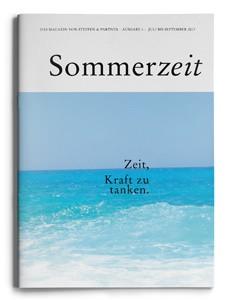 """Unsere Sommerzeit 2013  – """"Das Magazin von Steffen & Partner"""""""