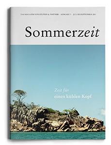 """Unsere Sommerzeit 2014  – """"Das Magazin von Steffen & Partner"""""""