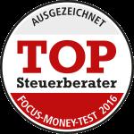 Focus Money: Steffen & Partner ist Top-Steuerberater 2016 im Segment der großen Kanzleien