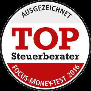 Focus Money: Top Steuerberater 2016 im Segment der großen Kanzleien
