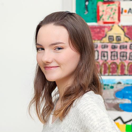 Angelina Lohberg, Auszubildende zur Steuerfachangestellten in Bocholt