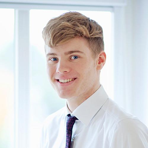 Jan-Niklas Wolter, Auszubildender in Bocholt