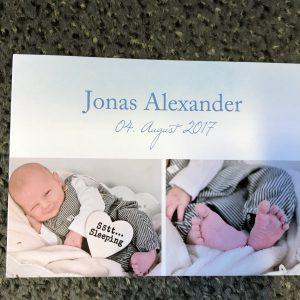 Neuer Kanzleinachwuchs: Jonas Alexander ist da!!!