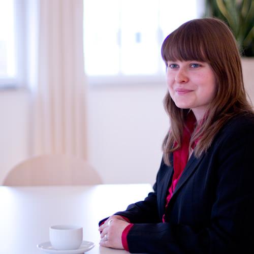Julia Schopohl, Bürokauffrau in Bocholt