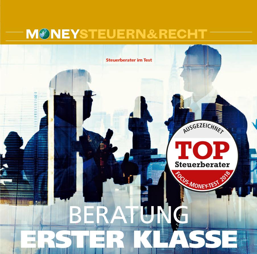 Auch in 2018: Steffen & Partner ist Top-Steuerberater im Segment der großen Kanzleien (Focus Money)