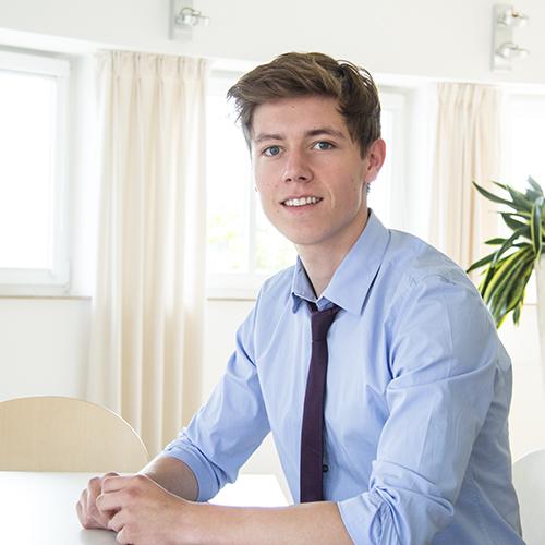 Rick Steffen, Auszubildender in Bocholt