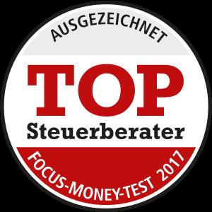 Focus Money: Top Steuerberater 2017 im Segment der großen Kanzleien